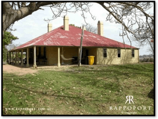 Colonial farmhouse building in Liverpool NSW Rappoport website