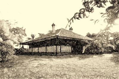 House in Killara NSW Australia esketched by Paul Rappoport June 2015