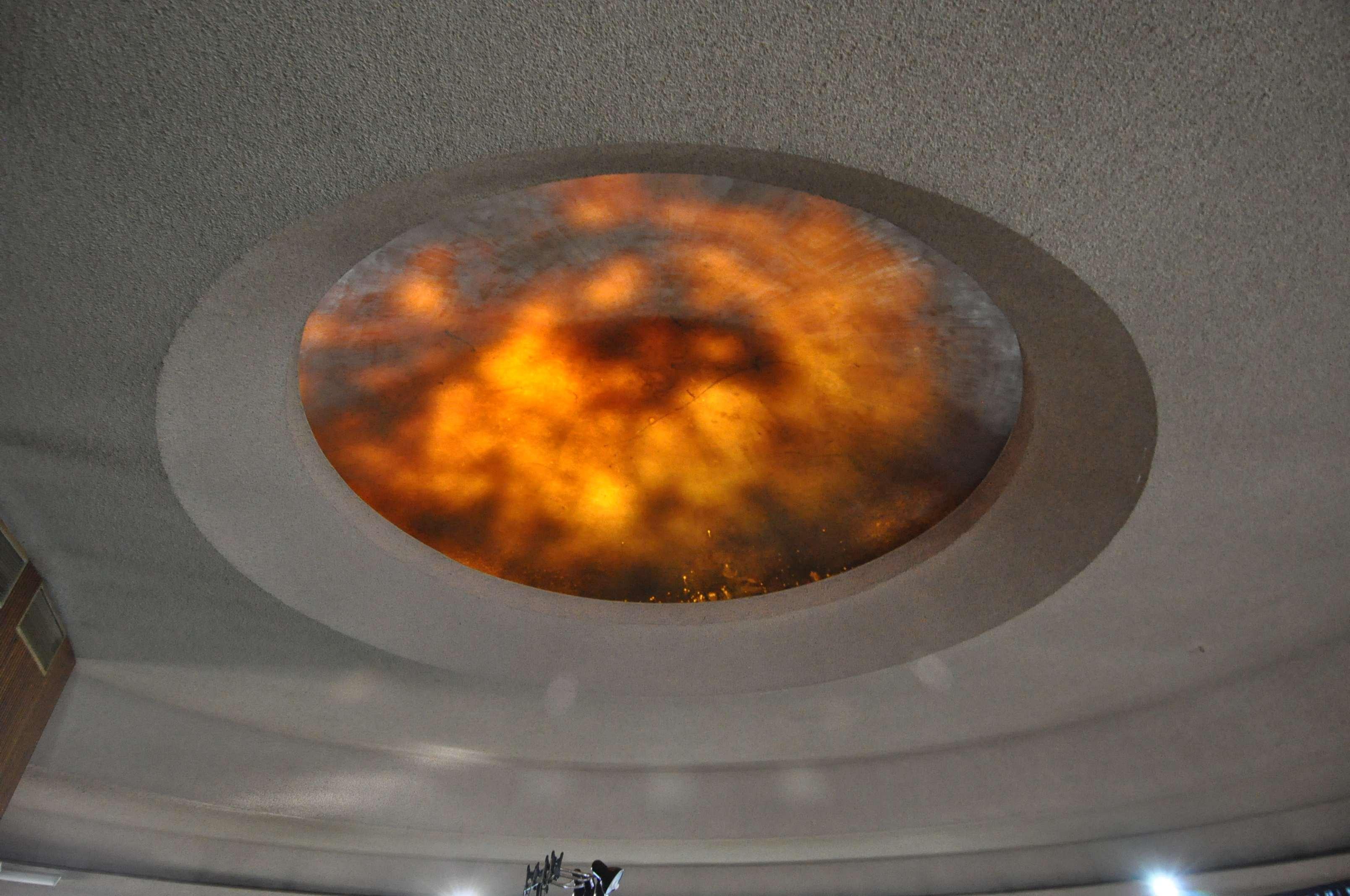 Transluscent Dome in the auditorium
