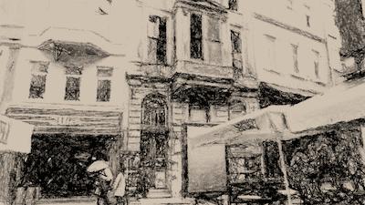 A_street_scene_in_Istanbul_Turkey_