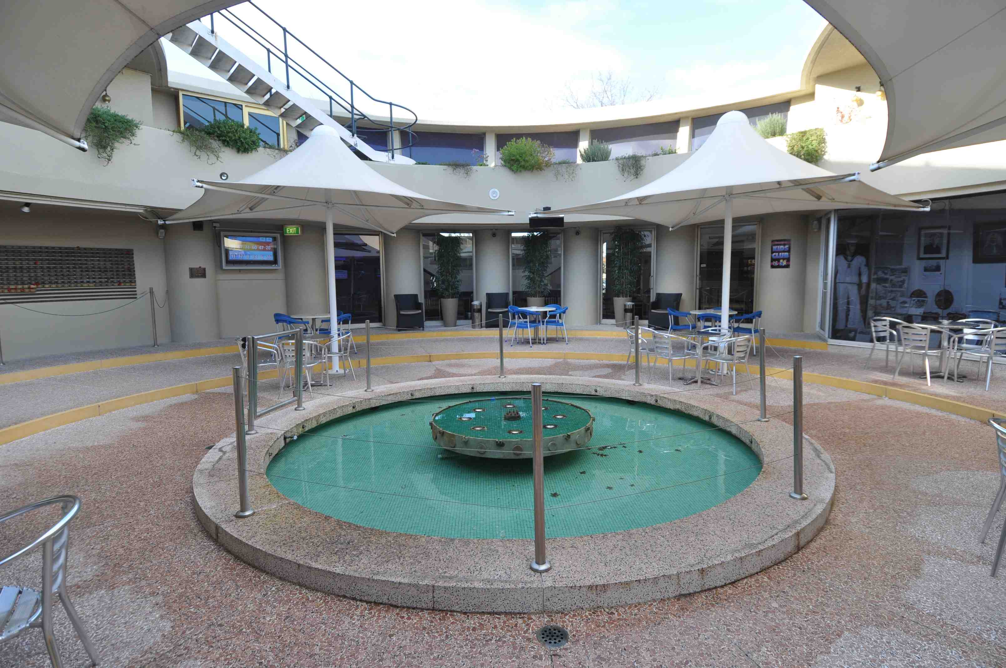 Granville RSL Central Courtyard