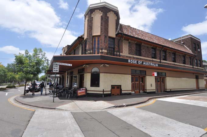 Locally listed pub Erskineville