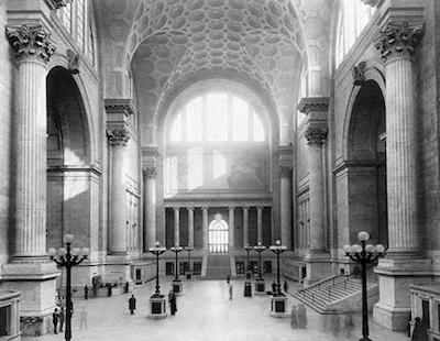 Pensylvania Station 1911